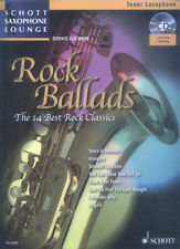 Schott Saxophone Lounge Rock Ballads Tenor Sax Play-Along Noten CD Dirko Juchem