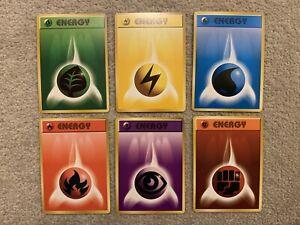 Pokemon Japanese Base Set Energy Bundle Job Lot Pocket Monster Pokémon Cards
