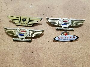 UNITED AIRLINES WINGS X 4