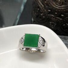 NEW!!! Brand New Myanmar Grade A Jadeite Yang Green Jade Unisex Ring