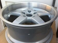 Hamann Hm2 18 X 8.5 ET 13 5:120 Silver Genuine Made In Germany 1 Set 4 Wheels