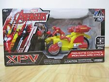 Marvel Avengers  XPV Remote Control IRON MAN ARC CYCLE  Car NEW SEALED