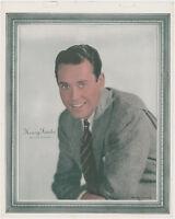 Henry Fonda 1938 Vintage Color Toned Movie Star Premium Photo - 7-7/8 X 9-7/8