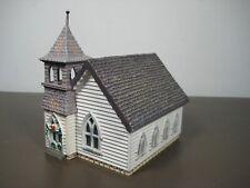 Country Church Hallmark Sarah Plain & Tall HO plastic built-up structure 1994