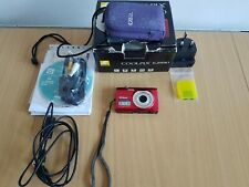 Nikon COOLPIX S2550 Digital Camera + 8Gb Memory & Accessories