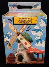 Mib Vintage 1981 Schleich Peyo Smurfs The Original Windmill New Unused