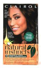 1 Damaged Box Clairol Natural Instincts 3.5 Brown Black Semi Permanent Color