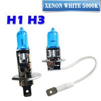 H1 + H3 XENON WHITE Headlight Bulbs Mitsubishi Delica Starwagon