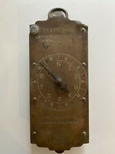 Antique Chatillon's Spring Balance 30lb Milk Scale Brass Working No Hook