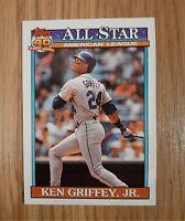 1991 Topps Ken Griffey,JR. Seattle Mariners #392 All Star Baseball Card