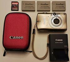 Canon PowerShot SD950 IS Digital ELPH 12.1MP Camera - Titanium