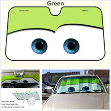 Big Eye Cartoon Car Front Window Sun Shade Visor Windshield Sunshade Block Cover