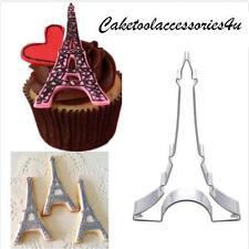 Torre Eiffel forma Cookie Molde Cortador, Fondant Sugarcraft Molde