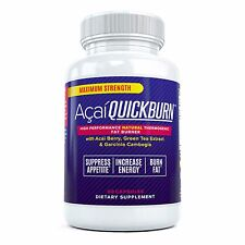 ACAI QUICK BURN - #1 Rated Acai Berry Fat Burner Diet Pills w/ Garcinia Cambogia