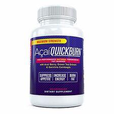 ACAI QUICK BURN - #1 Rated Acai Berry Fat Burner Diet Pills w/ Garcinia Cambogia