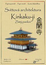 Japanese Castle Kinkaku-ji Golden Pavilion world asian architecture paper model