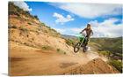 ARTCANVAS Dirt Bike Motocross Competition Canvas Art Print