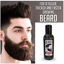 Grow Facial Hair Thicker Beard Mustach Fast Growth Oil Boys V/s Mens 50ml Oil