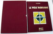 BLAKE ET MORTIMER JACOBS LE PIEGE DIABOLIQUE LUXE HC NR 1990 AVEC CASSETTES