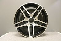 """1 MERCEDES E CLASS W212 18"""" AMG ALLOY WHEEL BLACK & POLISHED FRONT 8,5J SPARE"""