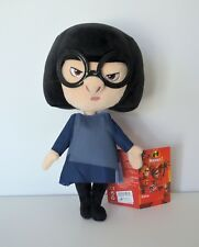 """Disney Parks Edna Mode The Incredibles 2 Plush Doll 12"""" NEW Free Shipping"""