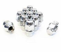 24x Chrome Solid Steel Spike Lug Nuts 14x1.5 for Chevy Avalanche Silverado 1500