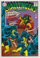 Challengers Of The Unknown #61 Vg/F, Adventure, center loose t/s, Dc Comics 1968