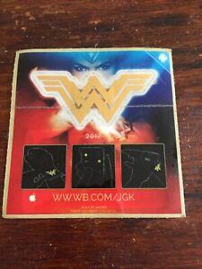 Justice League Wonder Woman promo tattoo