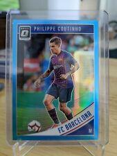 2018-19 Donruss Optic Soccer PHILIPPE COUTINHO Blue Prizm /149 FC BARCELONA
