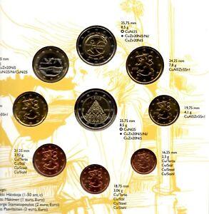 Coffret Euros Finlande 2009 BU