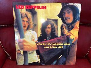 LED ZEPPELIN LP LIVE AT THE FILLMORE WEST