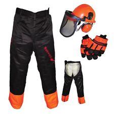 MOTOSEGA Sicurezza Casco Kit, GUANTI E GAMBALI tipo Pantaloni ideale per gli utenti Mitox