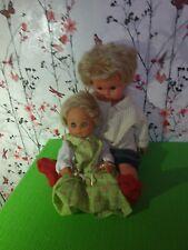 2 alte Puppen