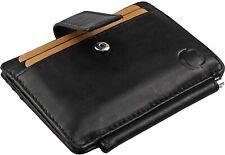 Geldbörse mit Geldklammer aus Leder mit RFID Schutz und Sicherheitsverschluss