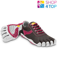 VIBRAM FIVEFINGERS SHOES SPEED XC W3683 BLACK ROSE WHITE WOMENS BAREFOOT NEW
