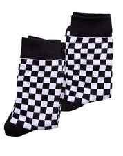 Warrior ropa hombre PACK 2 Dos Tonos Cuadros Calcetines Blanco y negro