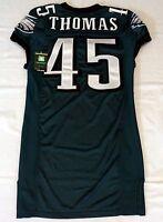 #45 Thomas of Philadelphia Eagles NFL Locker Room Game Issued Nike Jersey