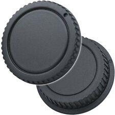 Objektiv & Rückdeckel Gehäusedeckel kompatibel mit Canon EF & EF-S Bajonett
