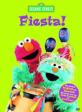 Sesame Street - Fiesta (DVD, 2004)