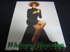 Whitney Houston 1986 Japan Tour Book Concert Program