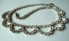 Glamour Paste Necklace Bridal? Prom Superb Art Deco Style 1930'S/40'S Hollywood
