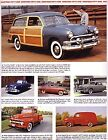 1951 Ford + Convertible + Woody Station Wagon Article - Must See!! + Crestliner