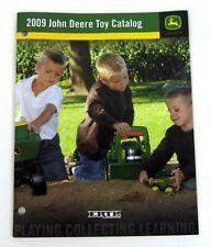 ERTL 2009 JOHN DEERE LARGE TOY CATALOG 1/64 1/50 1/16