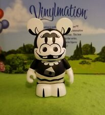 "Disney Vinylmation Park - 3"" Set 1 of Classic Black and White Clarabelle Cow"