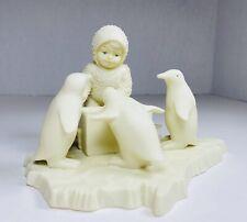 "Snowbabies Figurine ""Helpful Friends� Handing Out Stars �� Penguins� Ice 🧊"