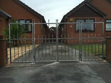 WROUGHT IRON DRIVEWAY BI FOLDING GATES