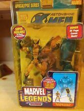 "Wolverine Marvel Legends Apocalypse BAF Wave 6"" sealed Astonishing X-Men New"