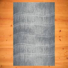 Teppich Modern sehr beliebt dezente Farbe Grau Silber meliert Wohnzimmerteppich