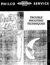 PHILCO Radio Service – Trouble Shooting Techniques (1952) - CD