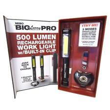NEBO Big Larry Pro 500 Lumen LED rechargeable Magnetic Work Light/Flashlight